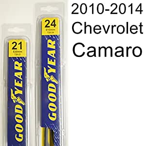 """Goodyear Windshield Wipers >> Amazon.com: Chevrolet Camaro (2010-2014) Wiper Blade Kit - Set Includes 24"""" (Driver Side), 21 ..."""