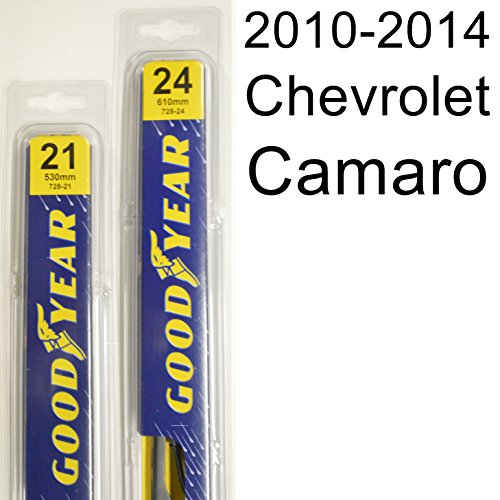 Chevrolet Camaro Wiper (Chevrolet Camaro (2010-2014) Wiper Blade Kit - Set Includes 24