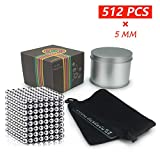 Lamdico Fidget Cube 512 Pcs,Desk Cube for Stress Relief & Creative Inspiration Include Splitter Card and Storage Bag