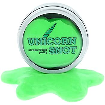 Unicorn Snot Stress Putty – Stress Relief Toys – Unicorn Gifts – Stocking Stuffers for Girls – Stocking Stuffers for Women – Unicorns – Unicorn Boogers by Gears Out