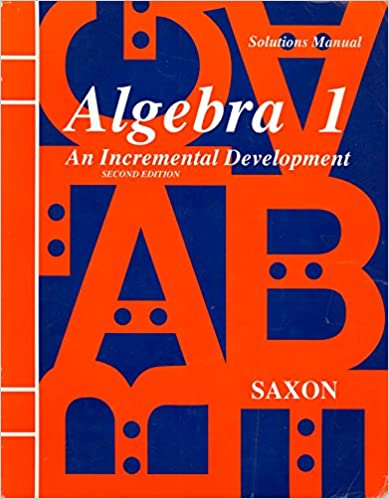 Amazon algebra 1 an incremental development solutions manual algebra 1 an incremental development solutions manual 2nd ed fifth printing 1998 edition fandeluxe Choice Image