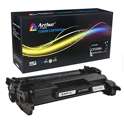 - Arthur Imaging Compatible High Yield Toner Cartridge Replacement for HP CF226A/CF226X (Black, 1-Pack)