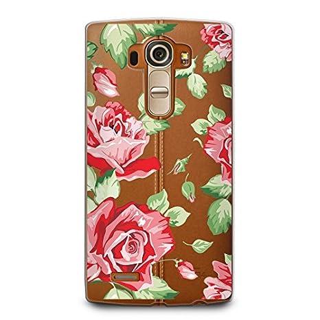 Amazon.com: casesbylorraine Cute patrón pc caso Hard Back ...