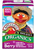 Apple and Eve Sesame Street Organics, Ernie's Berry, 36 Count