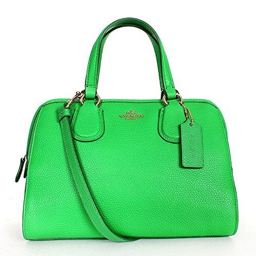 Womens Refined Leather Nolita Satchel