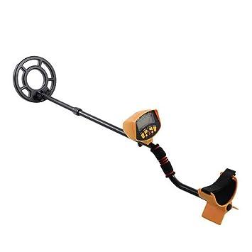 AimdonR - Detector de Metales subterráneos con Forma de Tesoro, con Mango Ajustable, Gran Pantalla LCD: Amazon.es: Hogar