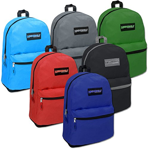 High Trails 19 Inch Backpack - 6 Colors by High Siera