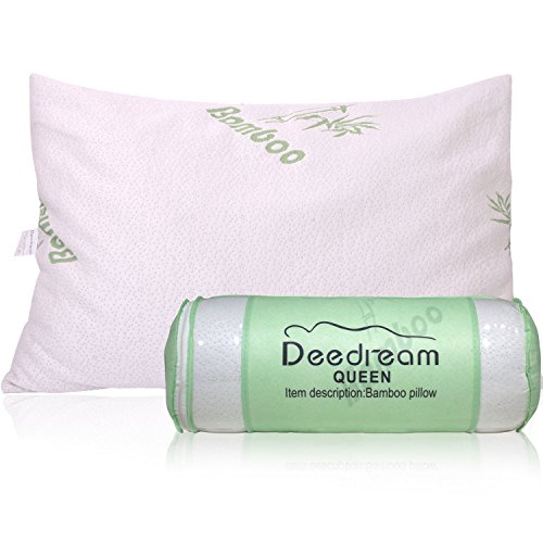 Shredded Memory Foam Bed Pillow Adjustable To Thick