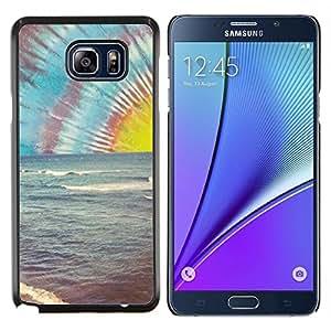 TECHCASE---Cubierta de la caja de protección para la piel dura ** Samsung Galaxy Note 5 ** --Lsd Hippie Drogas Shrooms Beach