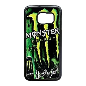 Special Design Cases Samsung Galaxy S6 Edge Cell Phone Case Black Monster Energy Xbnph Durable Rubber Cover