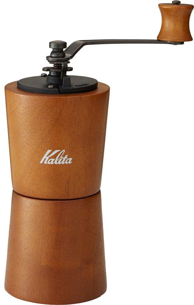 Kalita Manual Coffee Grider, KV-2B (Color: Brown)