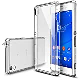 Xperia Z3 Case - Ringke FUSION Case [Free HD Film/Dust&Drop Protection][CRYSTAL VIEW] Shock Absorption Bumper Premium Hard Case for Sony Xperia Z3 - Eco/DIY Package (Not for Z3 Compact / Z3v / Z3 Dual)