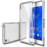 Xperia Z3 Case - Ringke FUSION Case [Free HD Film/Dust&Drop Protection][CRYSTAL VIEW] Shock Absorption Bumper Premium Hard Case for Sony Xperia Z3 - Eco/DIY Package (Not for Z3+ / Z3 Compact / Z3 Dual / Z3v / Z3 Tablet)