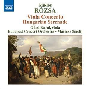 Viola Concerto Hungarian Sere