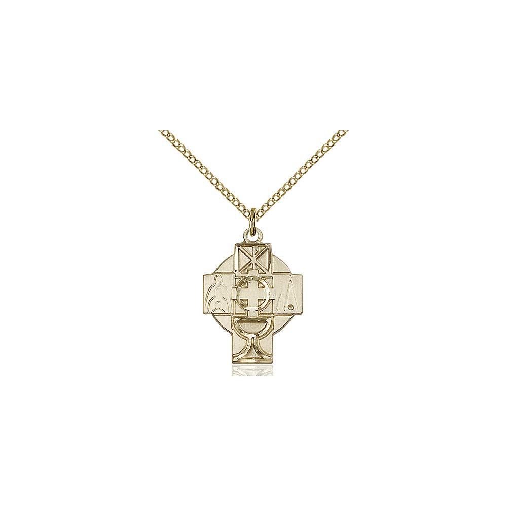 DiamondJewelryNY 14kt Gold Filled Rcia Pendant