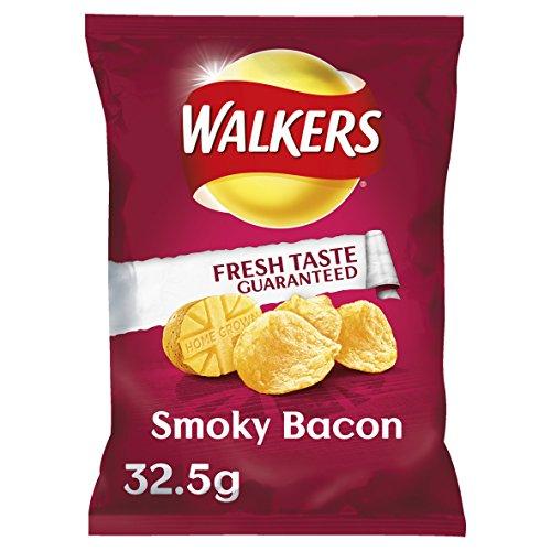 Walkers Crisps - Smoky Bacon (32.5g) ()
