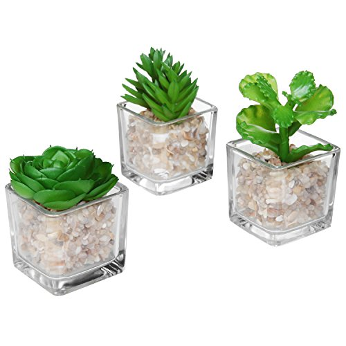 Modern Planter Plants Artificial Succulent