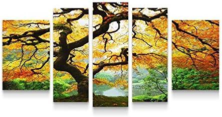 Startonight Canvas Wall Art Maple