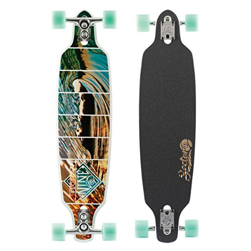 Sector 9 Fractal Complete Skateboard, White (Best Type Of Snowboard For Beginners)