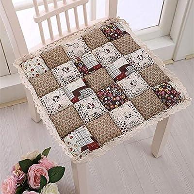 Cojines decorativos para silla de patchwork, diseño de