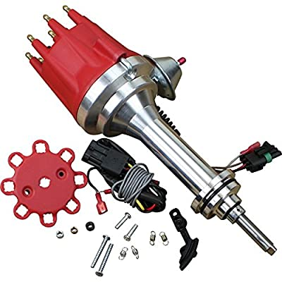 Dragon Fire High Performance Race Series Pro Billet Ready-to-Run Electronic Ignition Distributor Compatible Replacement For All Dodge and Chrysler Mopar 383-400 V8 Oem Fit DDPPRO-DF: Automotive