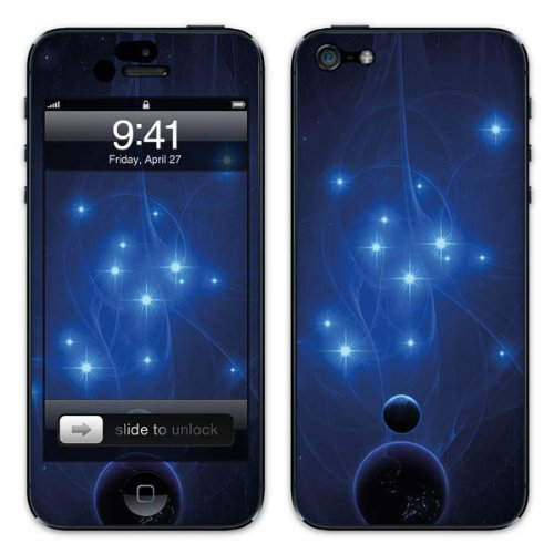 Diabloskinz B0081-0029-0002 Vinyl Skin für Apple iPhone 5/5S 10 million fireflys