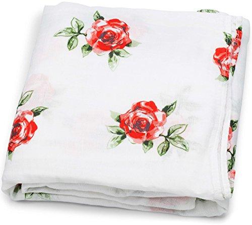 Girl Roses (Muslin Swaddle Blankets