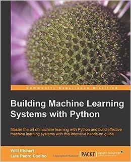 python machine learning raschka pdf