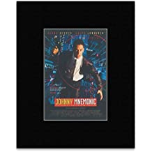 Stick It On Your Wall Johnny Mnemonic - By Robert Longo Mini Poster - 30.3x25.4cm