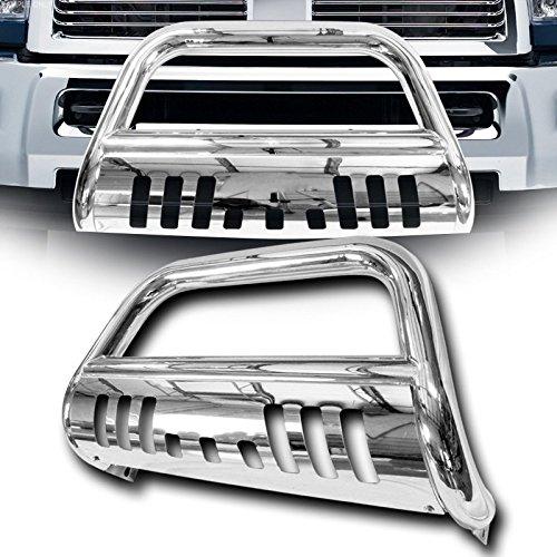 - VXMOTOR - Chrome Stainless Steel Bull Bar Brush Bumper Grille Guard Heavy Duty 02-05/03-09 Dodge Ram
