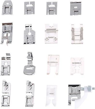 mikolot 16pcs multiusos para máquina de coser juego de pies ...