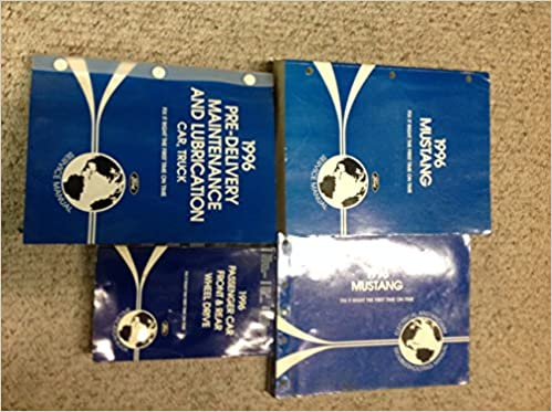 1996 Ford Mustang Gt Cobra Service Shop Manual Set Oem W Evtm Specs 1996 Ford Amazon Com Books