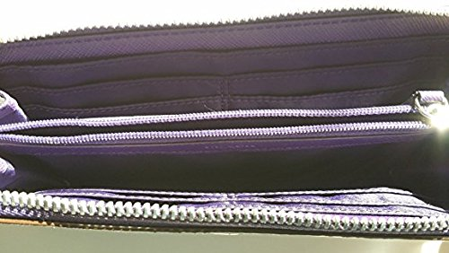 Wallet Signature F49964 Zip Slim Peyton Violet Khaki qtSwASC