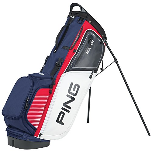 PING Hoofer Bag, Red/White/Navy