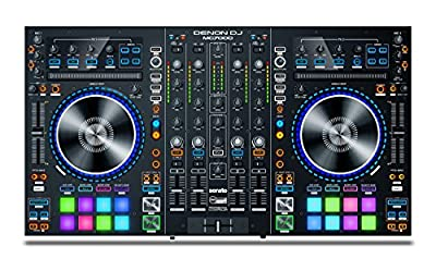 Denon DJ MC7000 | Premium 4-Channel DJ Controller & Mixer with Dual USB Audio Interfaces and full Serato DJ download from inMusic Brands Inc.