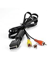 AV Kabel Passend Für Sony Playstation 2 Und 3, PS2 / PS3 Mit Ferritkern Von Amathings