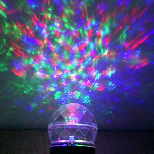 Outdoor Projector Rotating Flame Light Waterproof Magical Spotlights Adjustable Projection Kaleidoscope Lights Show for Garden,Indoor,Exterior Walls,Christmas,Birthday (Kaleidoscope Lights)