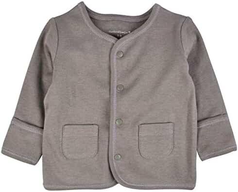 DorDor & GorGor ORGANIC Baby Cardigan Top, Dye Free, 100% Cotton