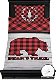 RNK Shops Lumberjack Plaid Duvet Cover Set - Toddler (Personalized)