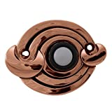Vicenza Designs D4003 Ariosto Doorbell, Antique Copper