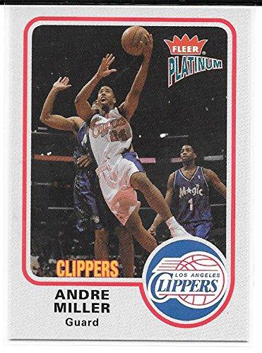 - Andre Miller 2002-03 Fleer Platinum Los Angeles Clippers Card #67