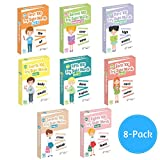 little champion reader - 800 Sight Word Flashcards in 8-Pack Little Champion Reader Bundle Set, Pre-K to 3rd Grade, Teaches 800 Dolch Fry High-Frequency Sight Words
