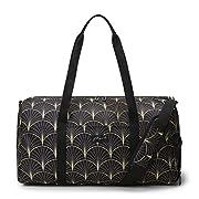 Jadyn B Weekender Bag – 56 cm./22 inch – 52L – Overnight or Weekend Duffel Bag with Shoe Pocket