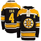 Boston Bruins Bobby Orr '47 Heavyweight Jersey Lacer Hoodie