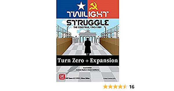 GMT Games GMT1915 Twilight Struggle Turn Zero Expansion, Mixed Colours: Amazon.es: Juguetes y juegos