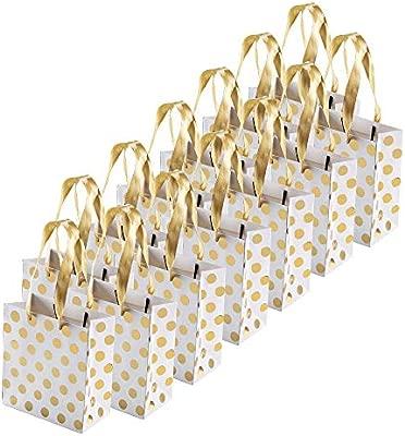 FOGAWA 12pcs Bolsas de Regalo bolsa de regalos de envoltura ...