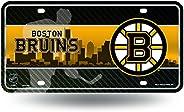 NHL Metal Tag License Plate