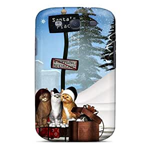 High-quality Durability Case For Galaxy S3(santa's Place)