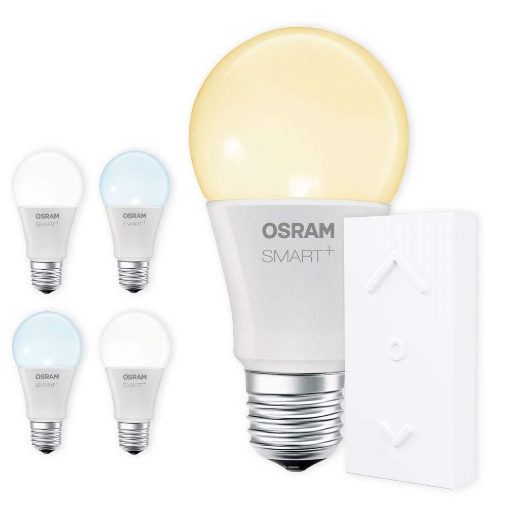 OSRAM SMART+ SWITCH KIT E27 Tunable Weiß LED dimmbar + Dimmschalter weiß Auswahl 5er Set