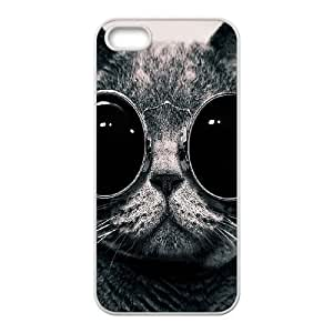 Customized case Of Lovely Cat Hard Case for iPhone 5,5S